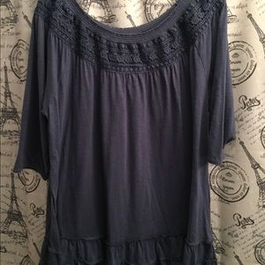 Navy XL Hannah tunic.